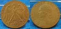 3 Mark Probe 1926 D Bronze 1926 D Deutschland /Weimar/ Probeprägung Wei... 575,00 EUR  +  8,95 EUR shipping