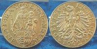 Deutschland /Weimar/ Probeprägung 5 Mark Probe 1925 D Weimar 5 Mark 1925D Motivprobe in Silber, Madonna mit Jesus/ Adler