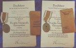 3.Reich Schutzwall Ehrenzeichen mit Urkunde 1939 3. Reich 3. Reich Schu... 95,00 EUR  +  7,50 EUR shipping