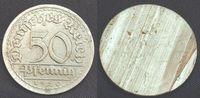 50 Pfennig 1921 Deutschland / Weimar Weimar 50Pf. J.301  FEHLPRÄGUNG  W... 95,00 EUR  +  7,50 EUR shipping