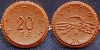 20 Pfennig Handformprobe 1920 Weimar Freistaat Sachsen, Probe 20 Pfenni... 95,00 EUR  +  7,50 EUR shipping