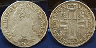 1/2 Ecu 1690 A Frankreich Frankreich 1/2 Ecu Ludwig 14. 1690 A, ss ss  125,00 EUR  zzgl. 4,75 EUR Versand