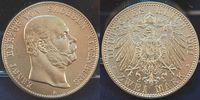 Deutschland / Kaiserreich / Sachsen-Altenburg 2 Mark Sachsen-Altenburg 2 Mark Ernst 1901 A f.st, schöne Tönung