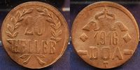 20 Heller Dünnabschlag, Bronze 1916 Kolonien / Deutsch-Ostafrika Koloni... 135,00 EUR  zzgl. 4,75 EUR Versand