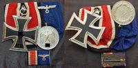 Ordenspange mit 3 Orden und Miniaturspange 1914-1944 Deutsches Reich / ... 145,00 EUR  +  7,50 EUR shipping