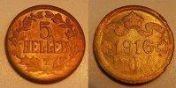 5 Heller 1916T Kolonien Deutsch-Ostafrika Deutsch-Ostafrika 5 Heller J.... 195,00 EUR  +  7,50 EUR shipping