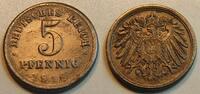 5 Pfennig Kopplung mit 1 Pfennig Rückseite 1916 D Deutschland / Kaiserr... 1600,00 EUR1100,00 EUR kostenloser Versand
