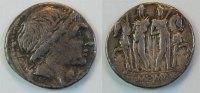 Denar 109-108 v.Chr Antike / Römische Republik Römische Republik  Denar... 140,00 EUR  zzgl. 4,75 EUR Versand