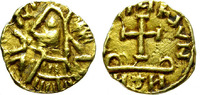 Gold Tremissis.   BARBARIAN. GERMANIC TRIBES, MOST PROBABLY MEROVINGIAN... 1800,00 EUR  zzgl. 39,00 EUR Versand
