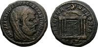 Ostia. Follis Constantius I. Struck under Maxentius.