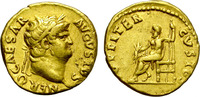 Aureus. AD 64-65. Rome. Nero. Nice and good condition. gutter +  4300,00 EUR  zzgl. 39,00 EUR Versand