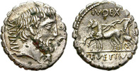 FOUREE DENARIUS. 99 BC. ROME. REPUBLIC. VETTIA 2. RARE AND SO NICE.   135,00 EUR  zzgl. 8,00 EUR Versand