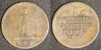 1 Pfennig 1776 Braunschweig-Calenberg-Hannover Georg III. (1760-1820) s +  20,00 EUR  zzgl. 5,00 EUR Versand
