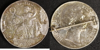 Siegestaler 1871 Bayern Ludwig II. Brosche  35,00 EUR  zzgl. 5,00 EUR Versand