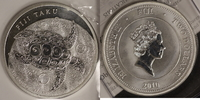 2 Dollar 2010 Fiji 2 $ Schildkröte st, mit Zertifikat  38,00 EUR  zzgl. 5,00 EUR Versand