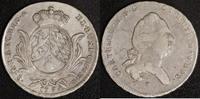 1/2 Wappentaler 1789 Bayern Karl Theodor (1777-99) ss  150,00 EUR  zzgl. 5,00 EUR Versand