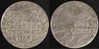 Silberjeton o.J. (um 1780) Brandenburg Ansbach Alexander ss  450,00 EUR kostenloser Versand