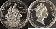 25 Dollar 1987 Bermudas Segelschiff PP  910,00 EUR kostenloser Versand