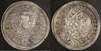 1/4 Taler 1693 Nürnberg, Stadt Leopold I. ss+,Sf.  350,00 EUR kostenloser Versand