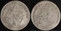 1/2 Taler 1753 Bayern Max III. Joseph (1745-77) ss-  50,00 EUR  zzgl. 5,00 EUR Versand