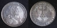 5 Mark 1955 BRD - Markgraf von Baden - vz/min.Kr./ber.  188,00 EUR