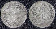 Batzen (4 Kreuzer) 1683 Brandenburg-Ansbach  Johann Friedrich s+  190,00 EUR  zzgl. 5,00 EUR Versand