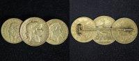 10 & 20 Francs - 10 Lire div. Frankreich/ Italien   broschiert  560,00 EUR kostenloser Versand