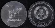 20 Mark 1975 DDR  PROBE - Johann Sebastian Bach f.st/f.Kr.  110,00 EUR  zzgl. 5,00 EUR Versand