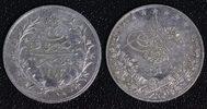 2 Qirsh 1293/24 1898 Ägypten Abdul Hamid II. - E. Weigand ss+/kl.Kr.  11,00 EUR  zzgl. 5,00 EUR Versand