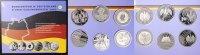 Satz 6x 10 Euro 2003 BRD Deutschland - Die 10 Euro-Gedenkmünzen des Jah... 155,00 EUR  zzgl. 5,00 EUR Versand
