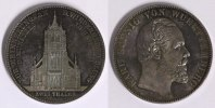 W&uuml;rttemberg Doppeltaler 1871 f.st/ dunkle Patina Karl - Wiederherstellun... 950,00 EUR inkl. gesetzl. MwSt., kostenloser Versand