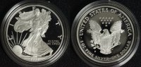 USA 1 Dollar 1996 PP in Kapsel Silver Eagle
