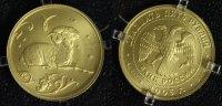 25 Rubel 2005 Russland Widder - Sternzeichen/ Tierkreiszeichen - Gold m... 325,00 EUR  zzgl. 5,00 EUR Versand