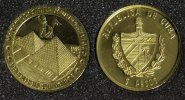 5 Pesos 2005 Kuba Pyramiden - Serie Die 7 Weltwunder - 1/25 Unze Gold PP*  64,00 EUR