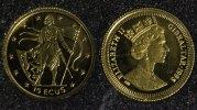 15 ECUS 1995 Gibraltar Gold PP*  75,00 EUR  zzgl. 5,00 EUR Versand