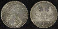 1/2 Konventionstaler 1770 N Hohenlohe-Schillingsfürst Karl Albrecht (17... 1450,00 EUR kostenloser Versand