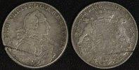 Taler 1766 ES Brandenburg-Bayreuth Friedrich Christian f.ss/Srf.  100,00 EUR  zzgl. 5,00 EUR Versand