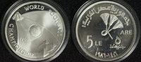 5 Pfund 1986 Ägypten Fußball-WM PP*/min.berieben  19,00 EUR  zzgl. 5,00 EUR Versand