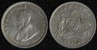 6 Pence 1918 Australien Georg V. - selten f.ss  13,00 EUR  zzgl. 5,00 EUR Versand