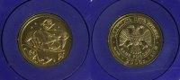 25 Rubel 2005 Russland Krebs - Sternzeichen/ Tierkreiszeichen - Gold st  295,00 EUR  +  10,00 EUR shipping