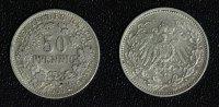 50 Pfennig 1903 A Kaiserreich J. 15 vz  330,00 EUR  zzgl. 5,00 EUR Versand