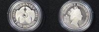 2 Pfund 1985 Guernsey 2 Pounds Guernsey 1985 40th Anniversary PP/Etui/Z... 99,00 EUR  zzgl. 5,00 EUR Versand