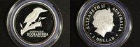 1 Dollar 2002 Australien 1 $ Kookaburra 2002 PP PP  80,00 EUR  zzgl. 5,00 EUR Versand