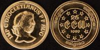 25 Ecu, 1/4 Unze 1989 Belgien König Baudoin (1951-91) st  390,00 EUR kostenloser Versand