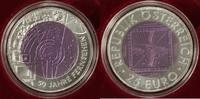 25 Euro 2005 Österreich 50 Jahre Fernsehen Hgh/OVP/Zert.  140,00 EUR