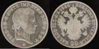 20 Kreuzer 1846 Wien Österreich-Habsburg Ferdinand I. vz-st  35,00 EUR  zzgl. 5,00 EUR Versand