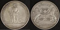 5 Franken 1859 Schweiz Schützenfest Zürich ss+, Rf  200,00 EUR  zzgl. 5,00 EUR Versand