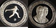 2000 Pesetas 1990 Spanien Olympia '90 Barcelona PP  22,00 EUR  zzgl. 5,00 EUR Versand