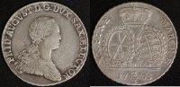 2/3 Taler 1765 Sachsen Friedrich August III. ss  75,00 EUR  zzgl. 5,00 EUR Versand