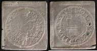 Klippe zu 1 Gulden 1704 Ulm, Stadt  ss, sf, pschw.  180,00 EUR  zzgl. 5,00 EUR Versand
